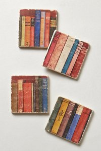 Botticino Marble Coasters from Anthropologie