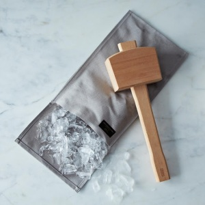 "Ice Crushing Bag w/ ""Schmallet"" Mallet from Food52 Provisions"